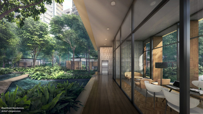 Riverfront Residences Co-working Place