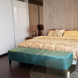 Super spacious bedroom of 3-bed dual key unit