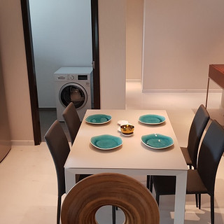 Kitchen of 3-bed dual key unit