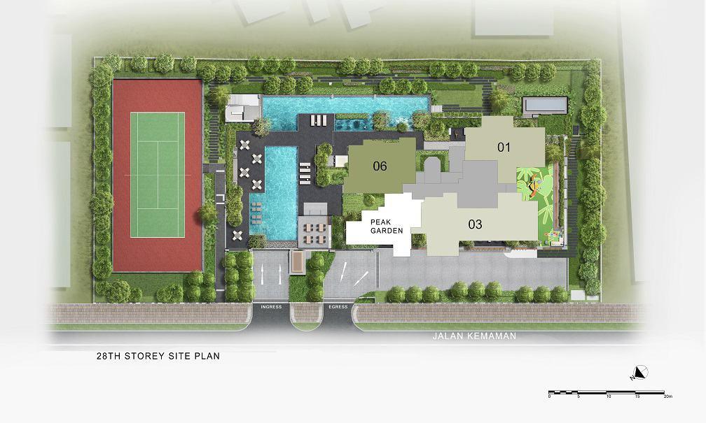Verticus - Site Plan Level 28