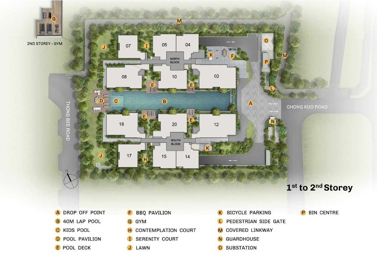 The Essence Site Plan