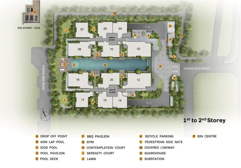 The Essence Site Plan