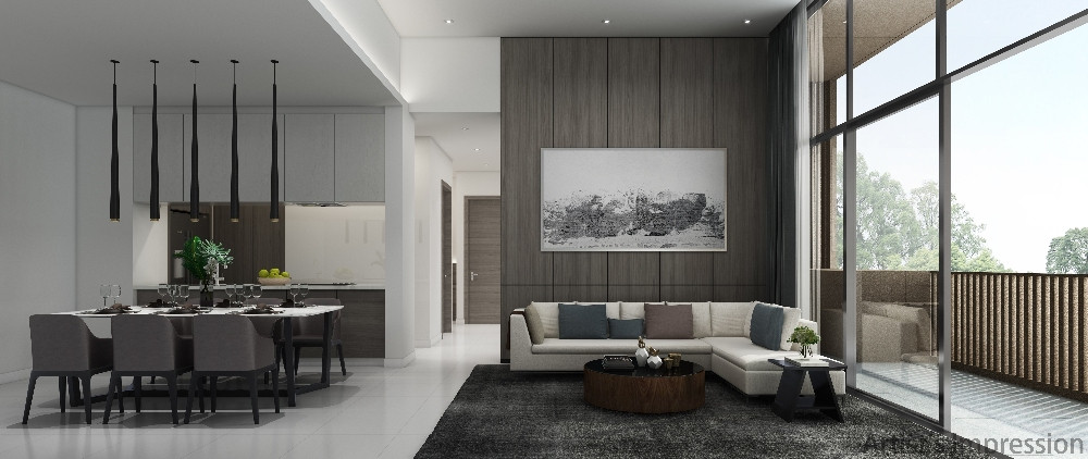 Kandis Residence Living & Dining Room