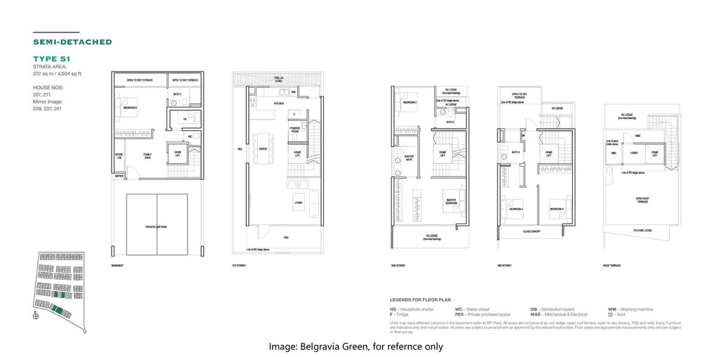 Belgravia Green - Semi Detached House