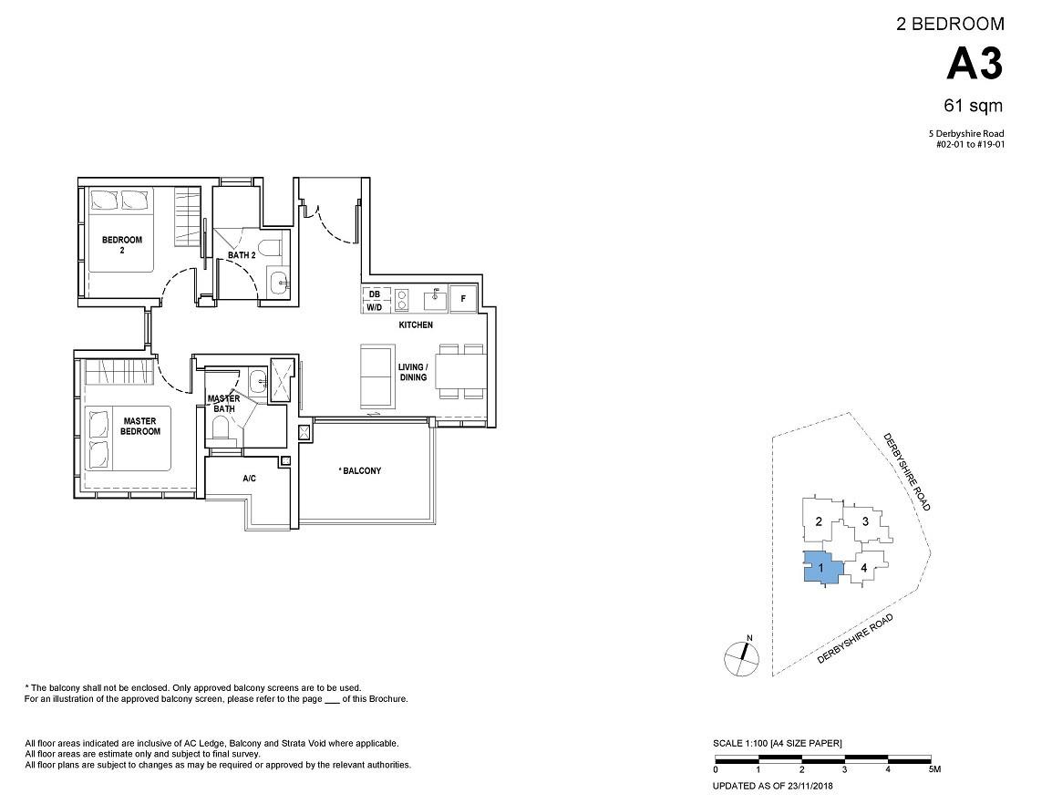2-bedroom Type A3