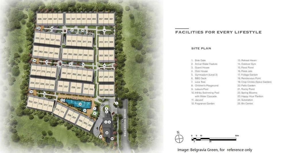 Belgravia Green - Site Plan