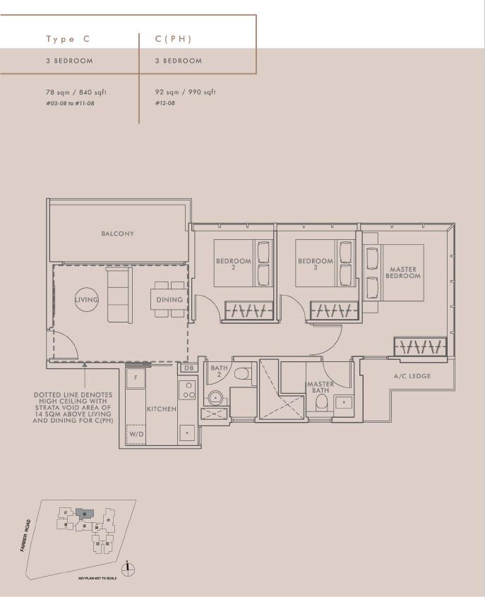 3 Bedroom Type C