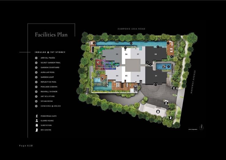 The Atelier - Site Plan