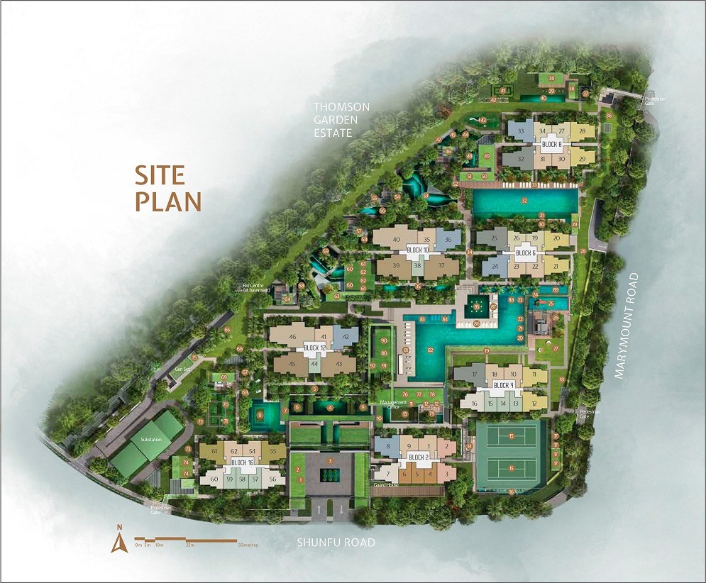 JadeScape Completed Site Plan