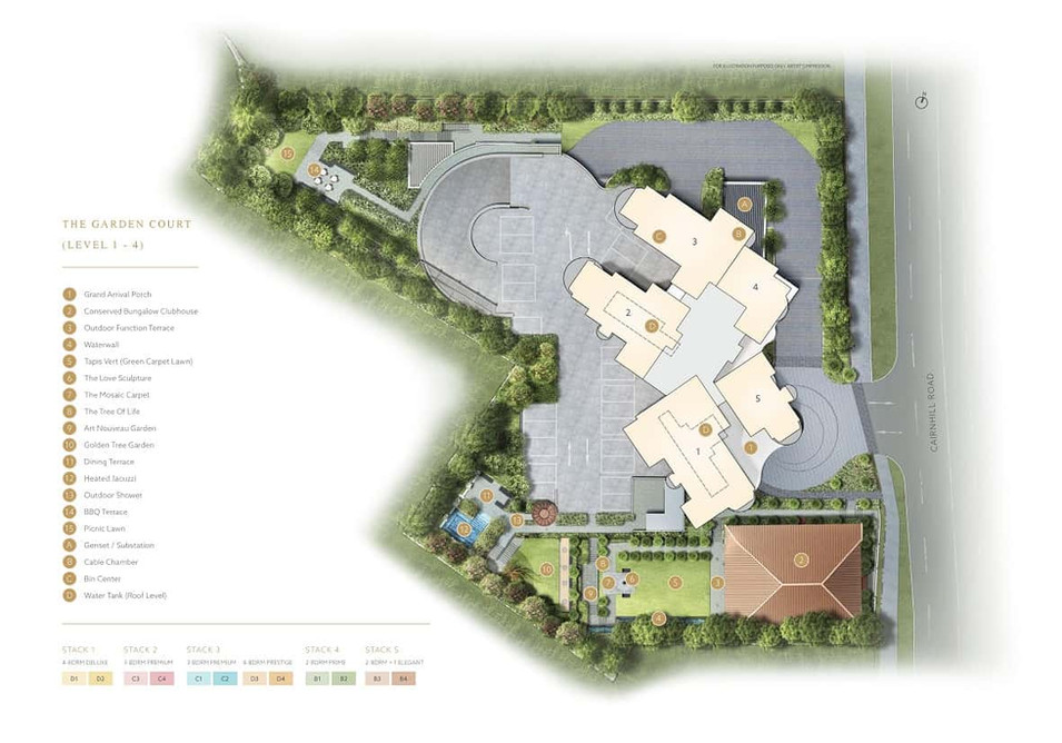 Klimt Cairnhill - The Garden Court