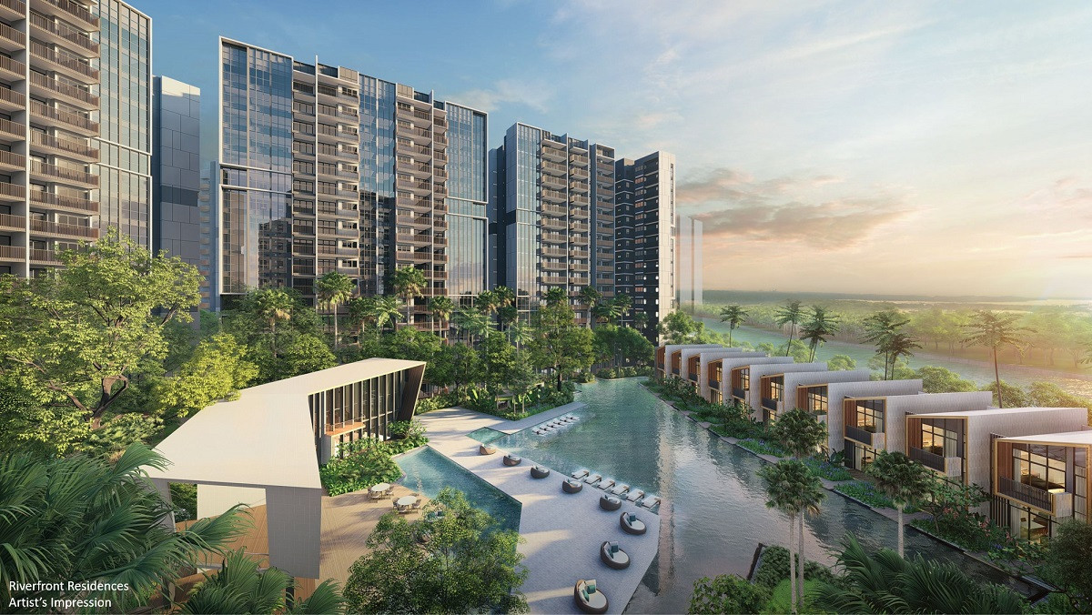 Riverfront Residences Main Pool