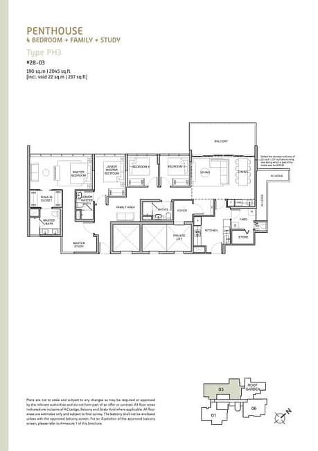 Verticus condo 4-Bedroom Penthouse