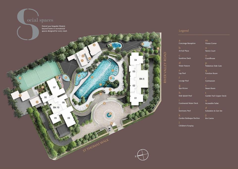8 Saint Thomas Site Plan