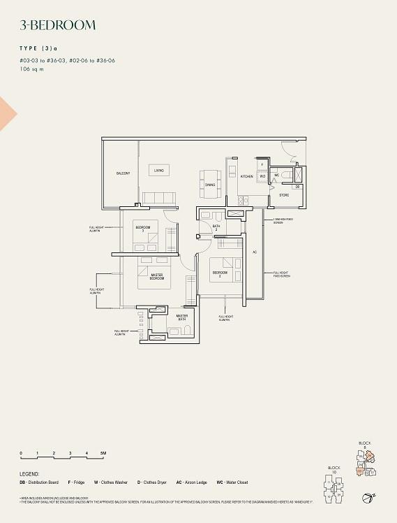 The Avenir 3-Bedroom