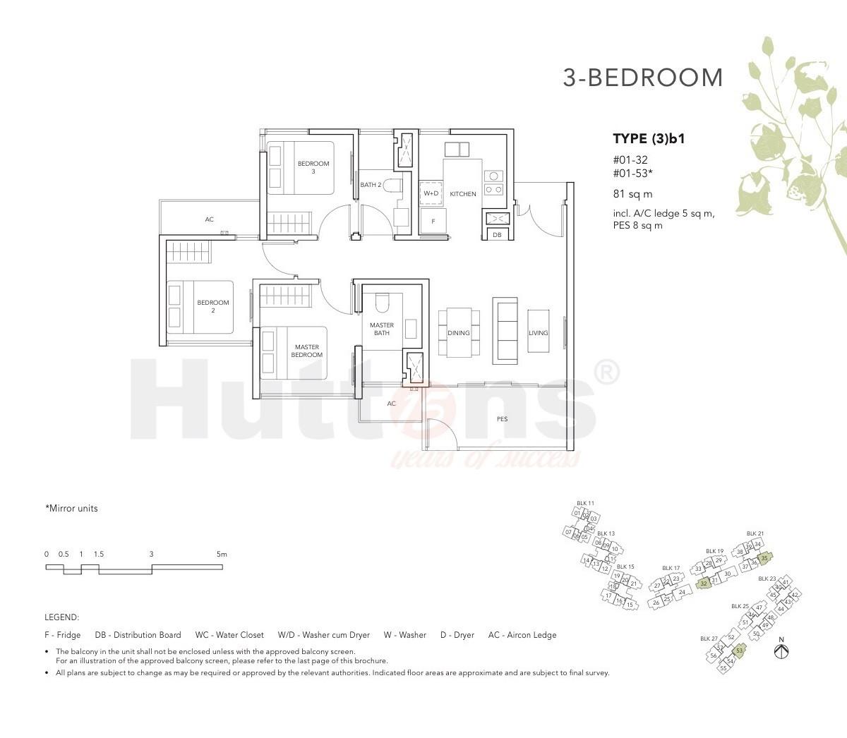 The Jovell 3 Bedroom