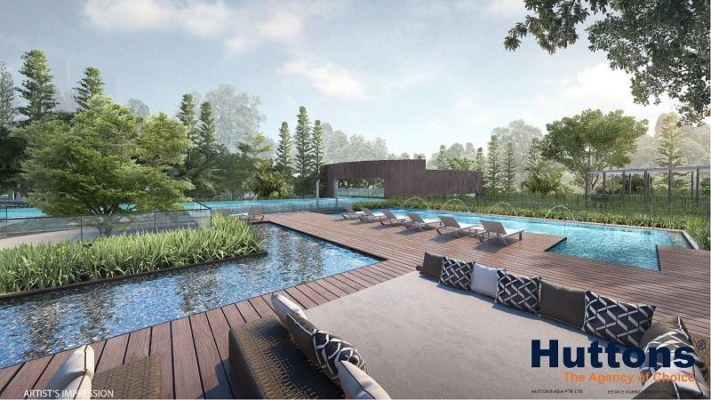 Wilshire Residences Pool Deck
