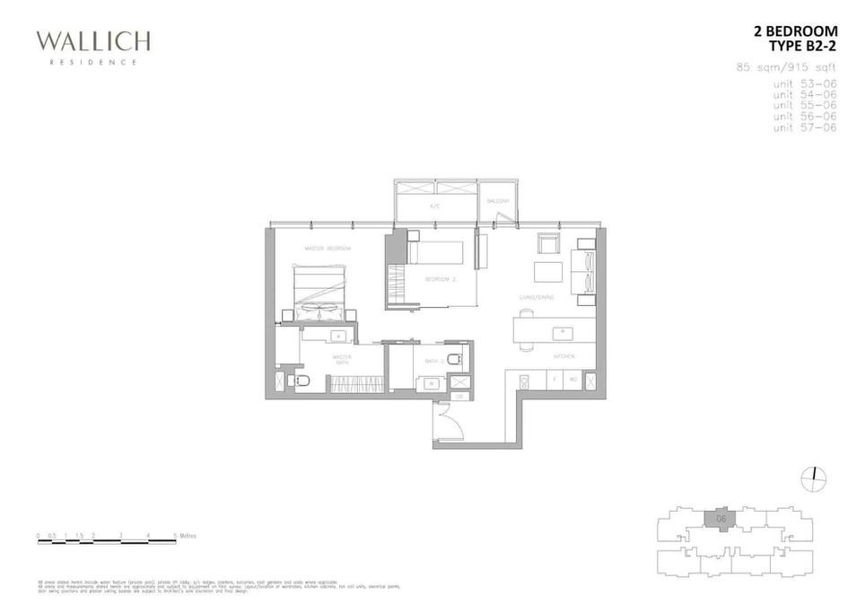 Wallich Residence Type B2-2
