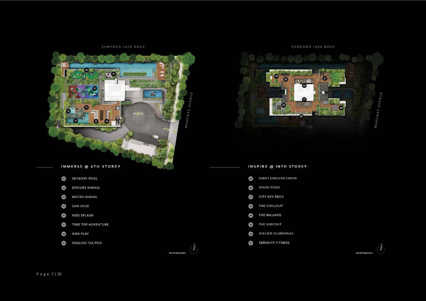 The Atelier - Facility Plan