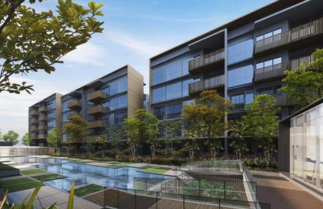 The Watergardens at Canberra Facade