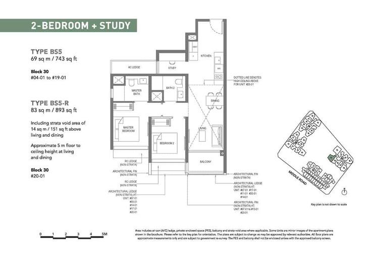 The M condominium showflat 2+S