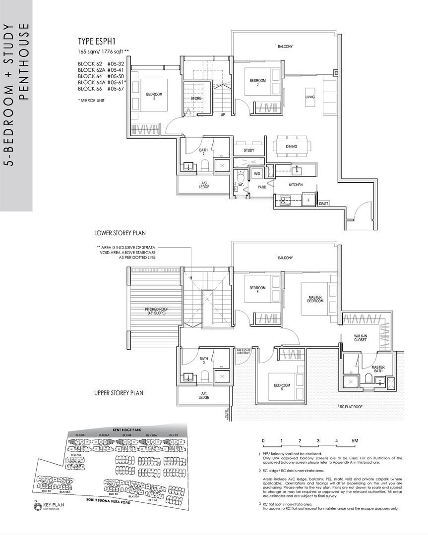 5 Bedroom Study Penthouse