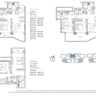 Kallang Riverside 2 Bedrooms