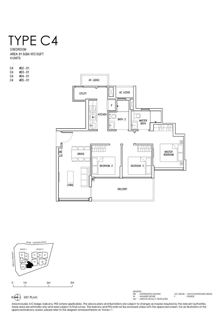 Lattice One 3 Bedroom