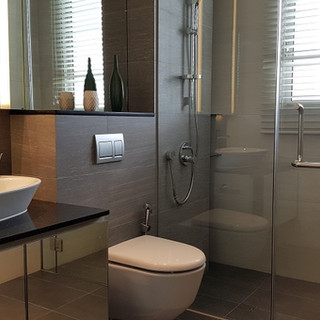 Bathroom of 3-bed dual key unit