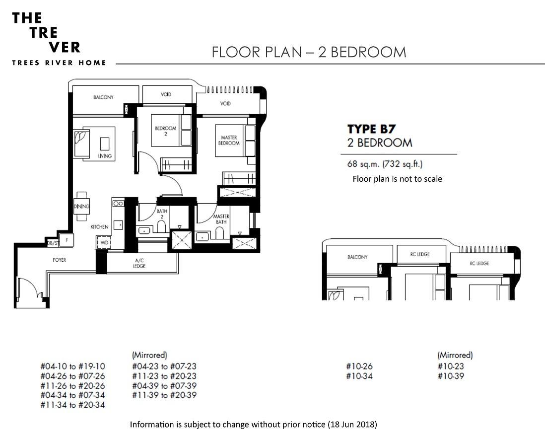 The Tre Ver - 2 Bedroom