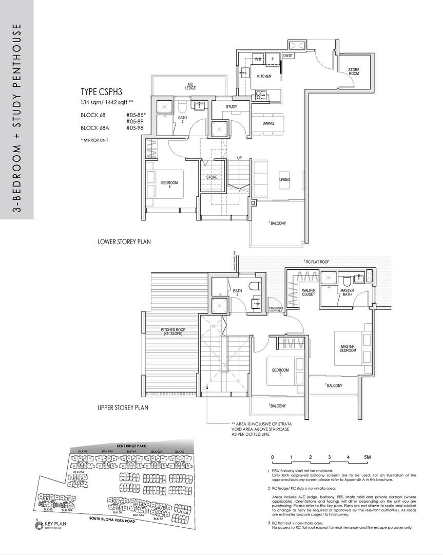 3 Bedroom Study Penthouse