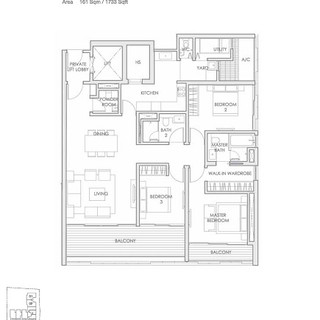 Lloyd 65 Type C2 - 3 Bedrooms