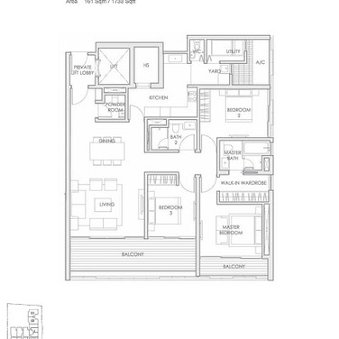 Lloyd 65 Type C2 - 3 Bedrooms