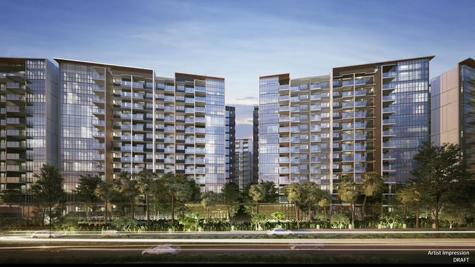 Affinity at Serangoon Residential Tower facing Serangoon River