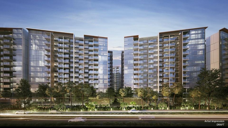 Residential Tower facing Serangoon River