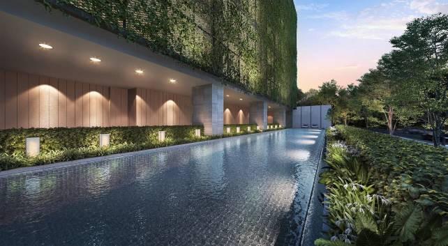 The Atelier - Aura  Lap Pool