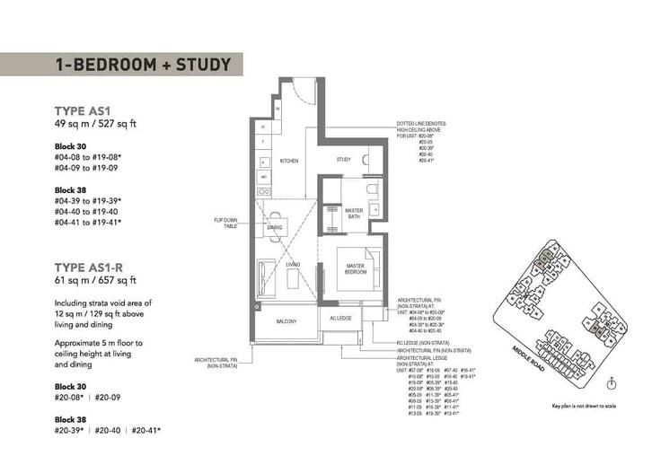 The M condominium showflat 1+S