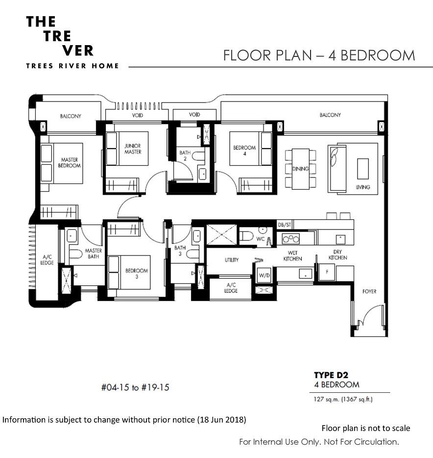 The Tre Ver - 4 Bedroom
