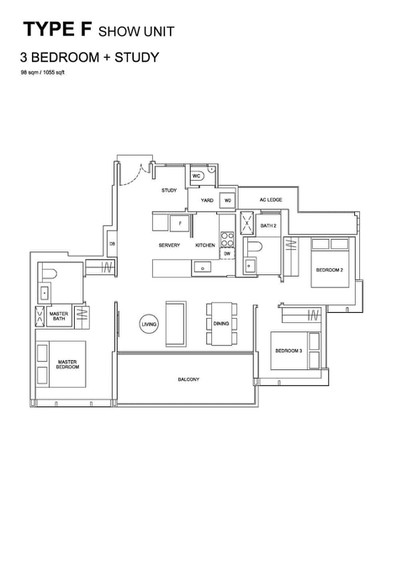 Hyll on Holland - 3-Bedroom Show Unit Pl
