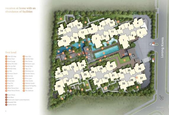 View at Kismis - Site Plan
