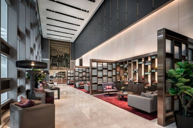 Wallich Residence - Main Lobby, Concierg