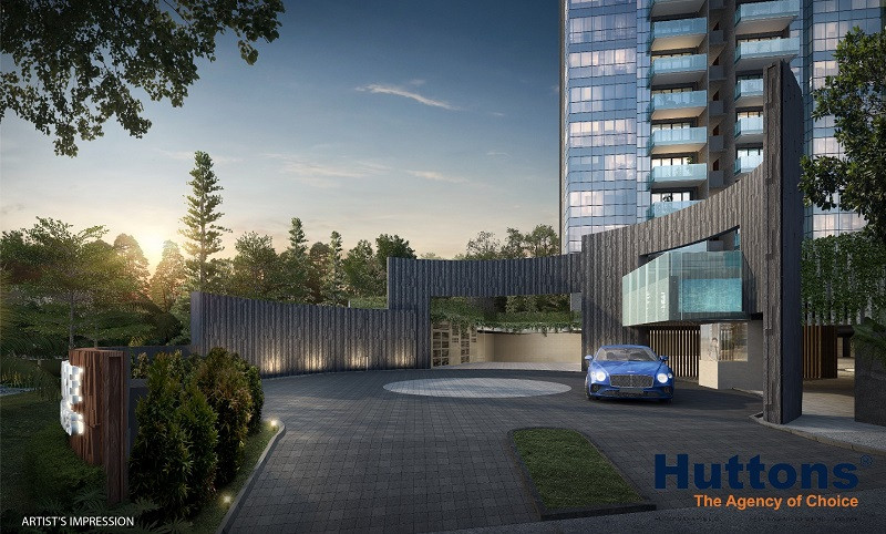 Wilshire Residences Main Entrance