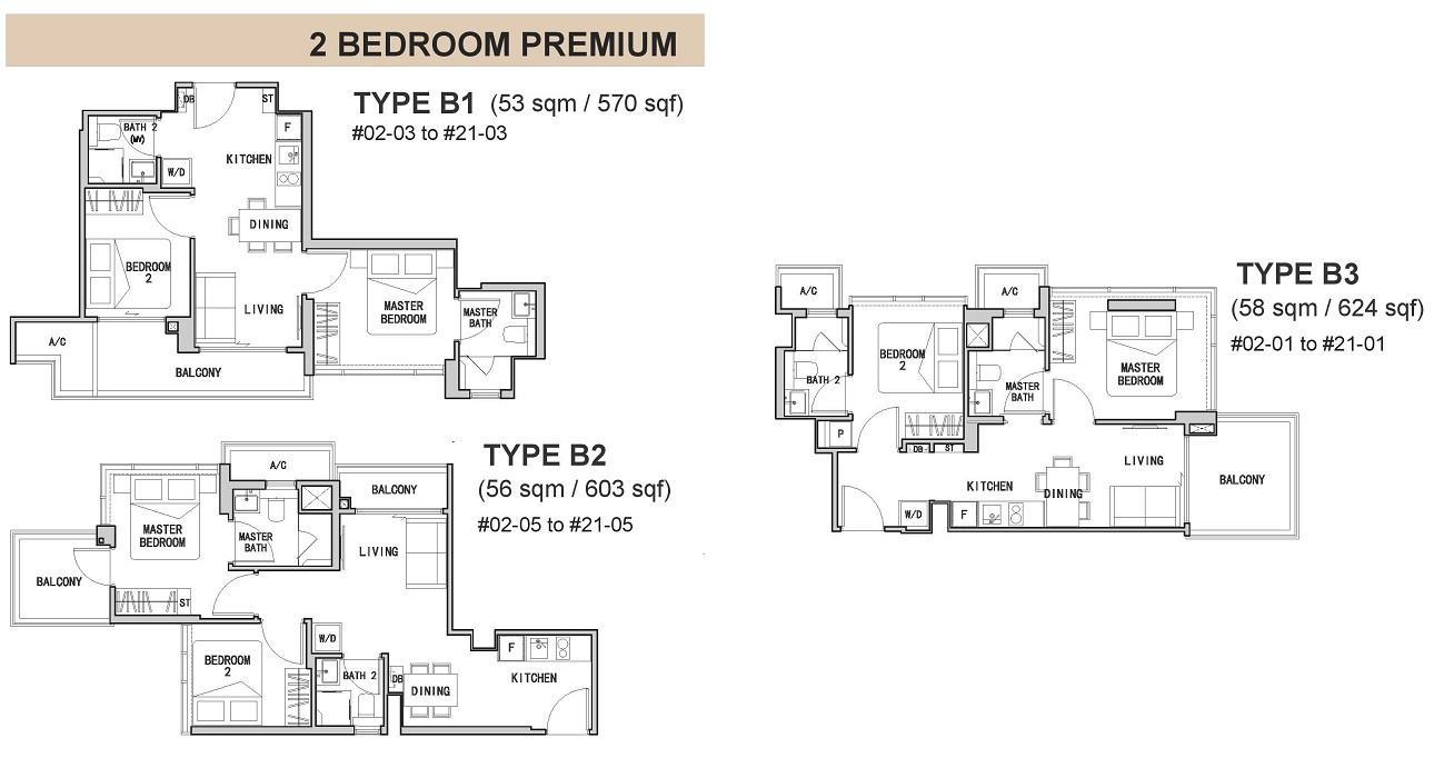 RV Altitude 2-Bedroom Premium