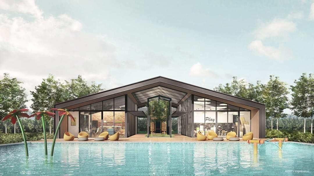 Parc Canberra clubhouse & Pool