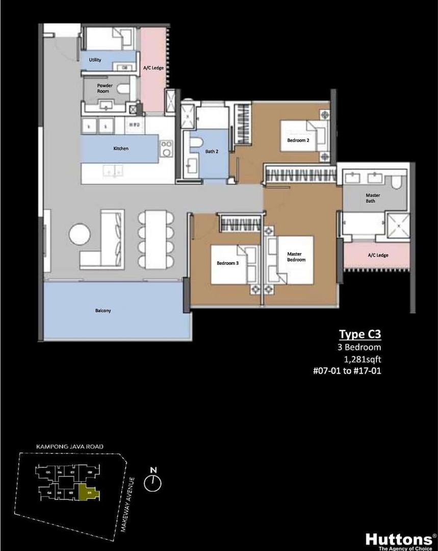 The Atelier 3-Bedroom