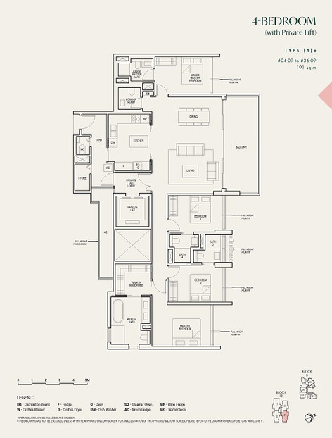 The Avenir 4-Bedroom with Private Lift