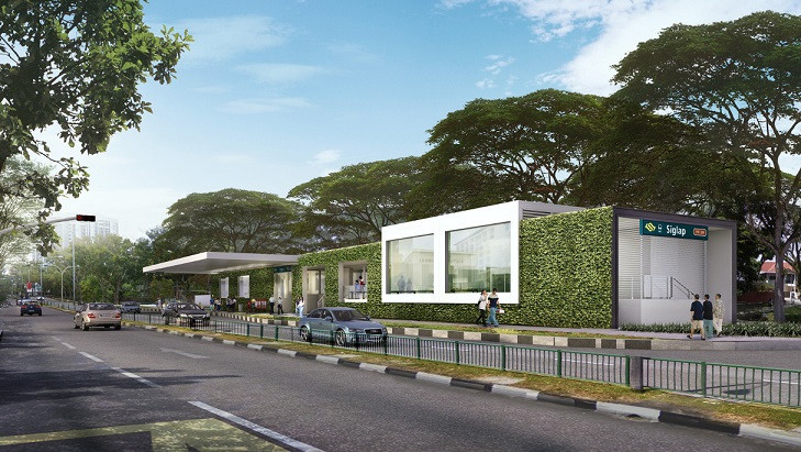 Seaside Residences Siglap MRT