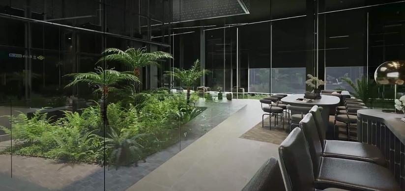 Midtown Modern Arrival Lounge