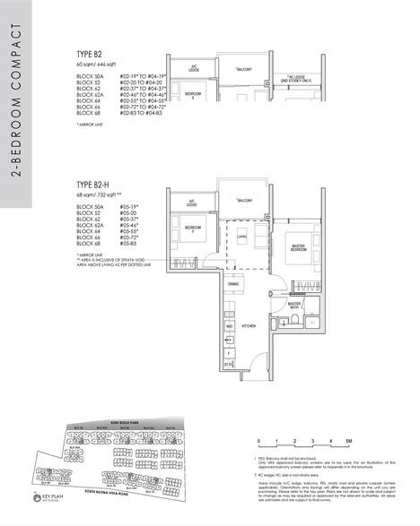 2 Bedroom Compact