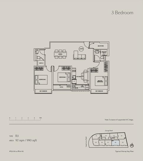 Tedge Condo at Changi Road 3-Bedroom.jpg