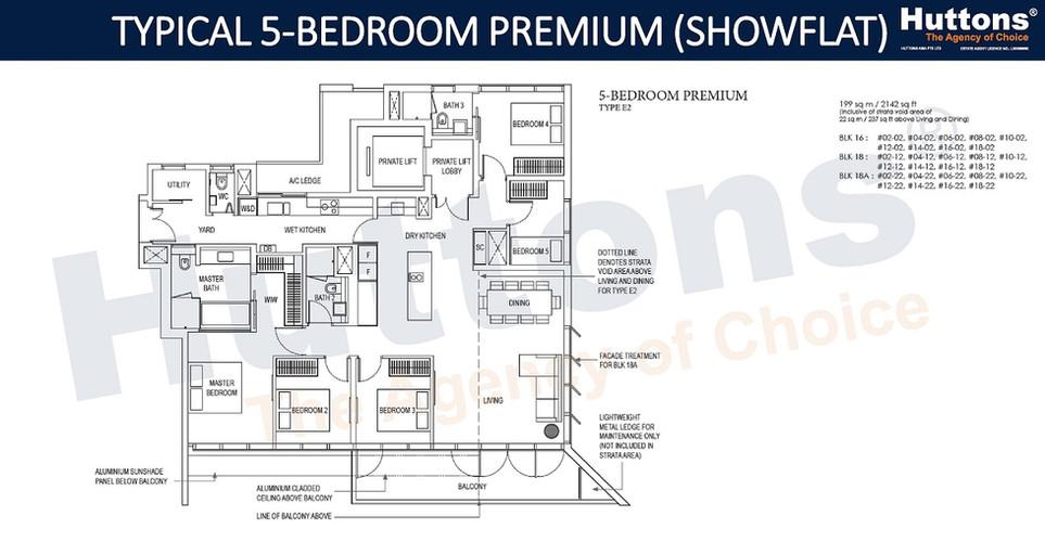 Amber Park - 5 Bedroom Premium (Showflat